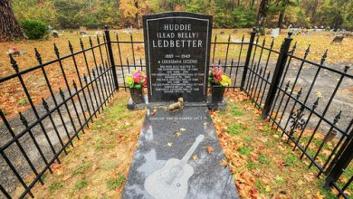 Lead Belly Grave site